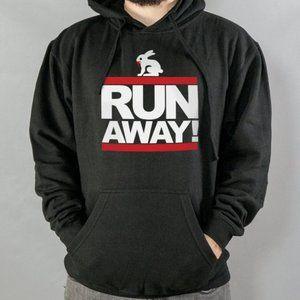 Run Away Rabbit Black Style
